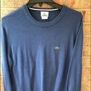 🎾 Men's Lacoste Dusty Blue Sweater 🎾